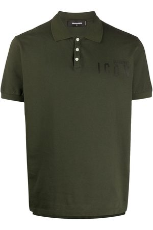 Dsquared2 Icon slogan cotton polo shirt