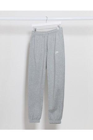 Nike Club casual fit cuffed joggers in grey