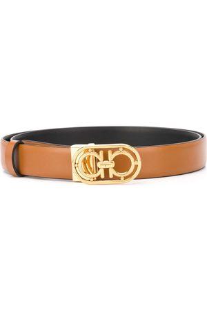 Salvatore Ferragamo Gancini buckled belt