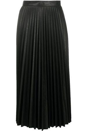 MM6 MAISON MARGIELA Senhora Saias Midi - Pleated midi skirt