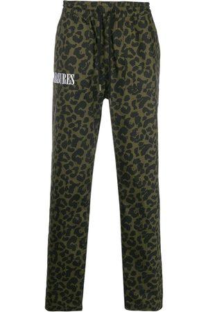 Pleasures Leopard print drawstring trousers
