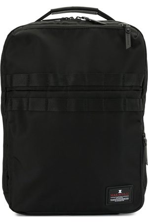 Makavelic Logo-patch Flea backpack