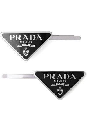 Prada Set of two hair clips