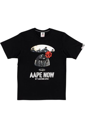 AAPE BY *A BATHING APE® X Xbox Gears 5 Moonface T-shirt