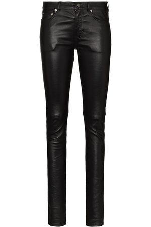 Saint Laurent Leather skinny trousers
