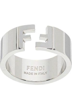 Fendi Logo detail ring