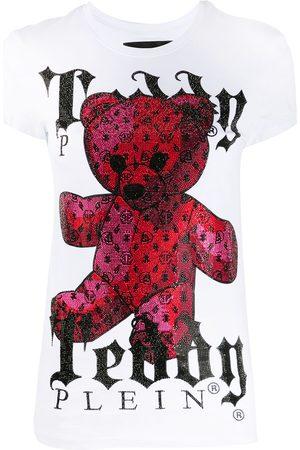 Philipp Plein Monogram Teddy Bear crew neck T-Shirt