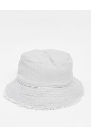 ASOS Canvas bucket hat in grey