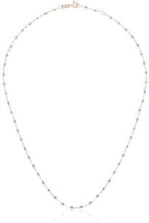 GIGI CLOZEAU 18kt beaded necklace