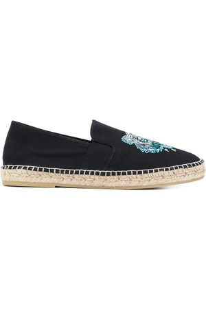 Kenzo Tiger embroidered slip-on espadrilles