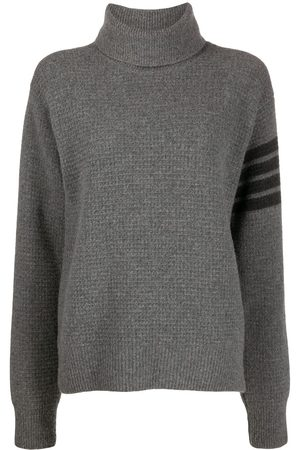 Thom Browne Senhora De gola alta - Wool-blend turtleneck jumper