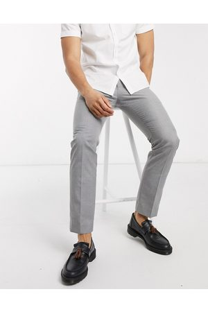 French Connection Homem Calças - Smart trousers in skinny fit-Grey