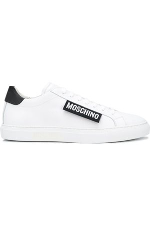 Moschino Logo patch sneakers