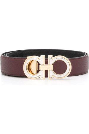 Salvatore Ferragamo Homem Cintos - Gancini leather belt