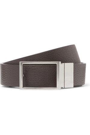 Bottega Veneta Homem Cintos - 3cm Reversible Textured-Leather Belt