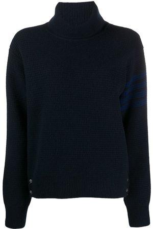 Thom Browne 4-Bar waffle-knit jumper