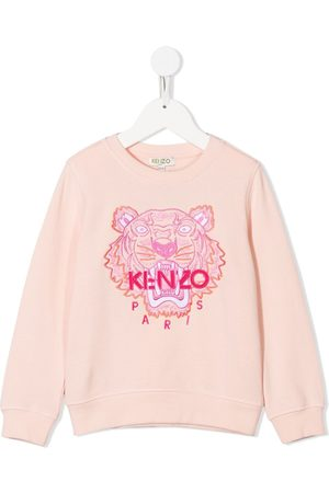 Kenzo Embroidered tiger head sweatshirt
