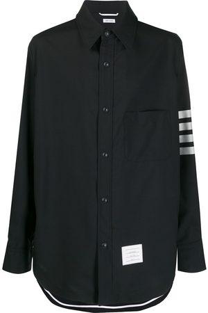 Thom Browne 4-Bar sleeve shirt