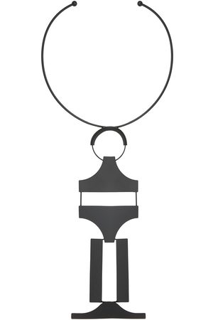 OSKLEN Obstacle pendant necklace