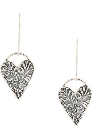 Petite Grand Senhora Colares - Engraved Heart earrings