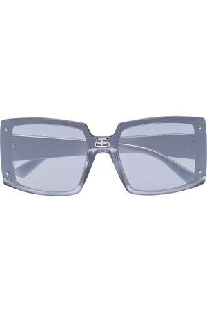 Balenciaga Square-frame tinted sunglasses