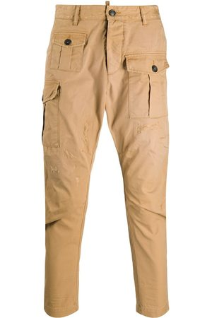Dsquared2 Tapered cropped cargo pants