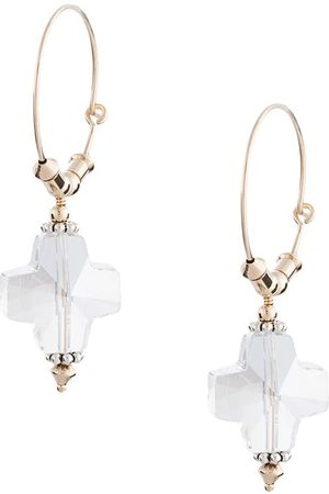 Petite Grand Replicant crystal hoop earrings