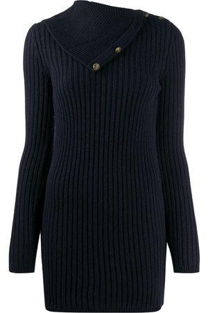 Saint Laurent Fold-over collar jumper