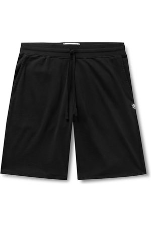 Reigning Champ Homem Calções - Wide-Leg Loopback Pima Cotton-Jersey Drawstring Shorts