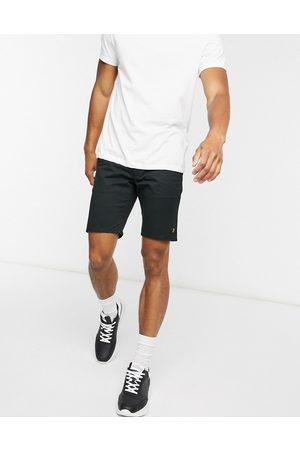 Farah Hawk chino shorts in black