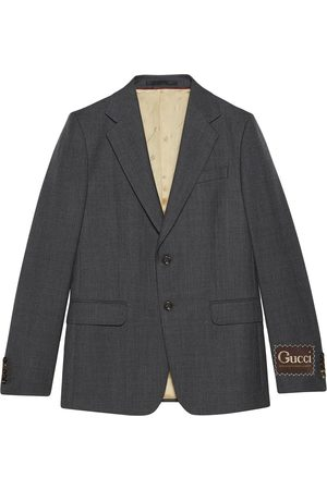 Gucci Single-breasted blazer jacket