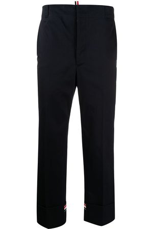 Thom Browne Twill straight-leg trousers
