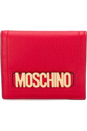 Moschino Logo plaque wallet