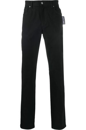 Moschino Straight-let mid-rise jeans