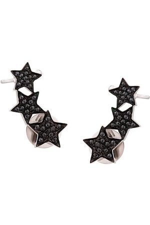 ALINKA Stasia triple star diamond ear cuff