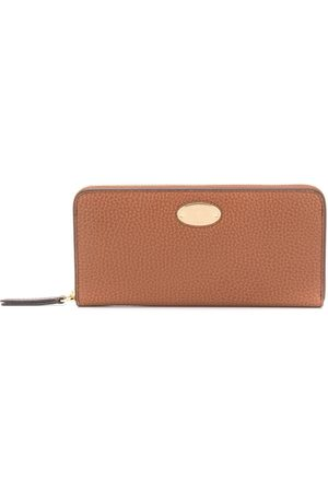 MULBERRY Logo plaque leather wallet