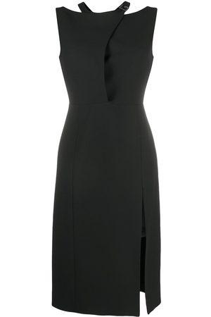 Gucci Logo-plaque knee-length dress