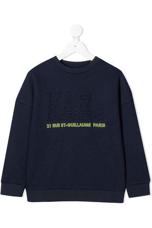 Karl Lagerfeld Debossed logo sweatshirt