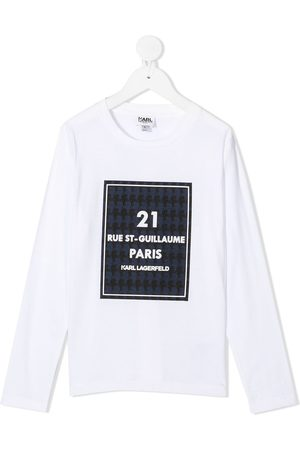 Karl Lagerfeld Rue St-Guillaume long-sleeved top