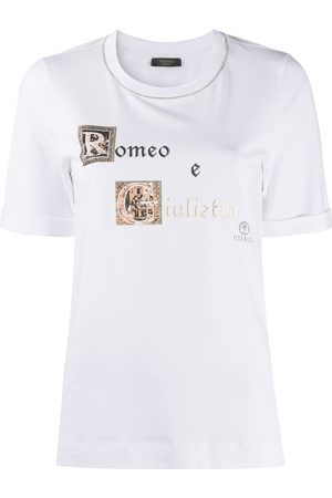 PESERICO SIGN Graphic-print relaxed-fit T-shirt