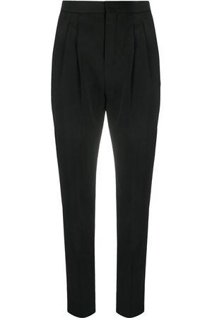 Saint Laurent High-waist tailored trousers