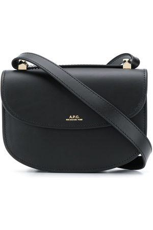 A.P.C Foldover logo crossbody bag