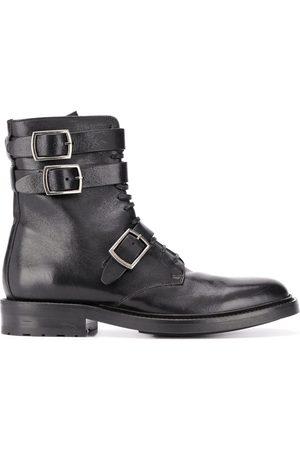 Saint Laurent Army 20 buckle boots