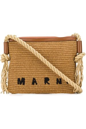 Marni Woven logo shoulder bag