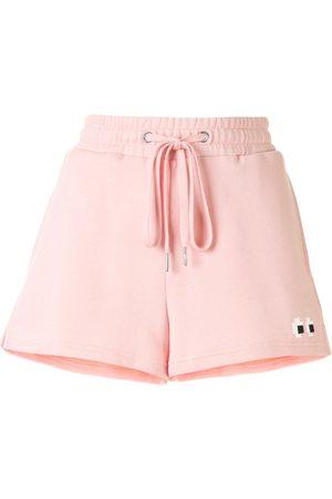 MOSTLY HEARD RARELY SEEN Drawstring track shorts