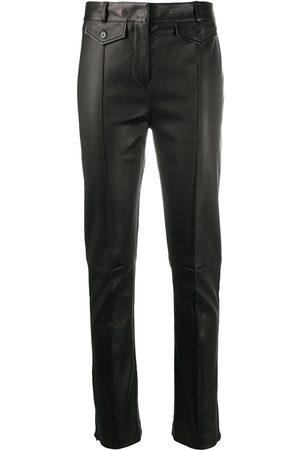 Tom Ford Leather skinny-leg jeans