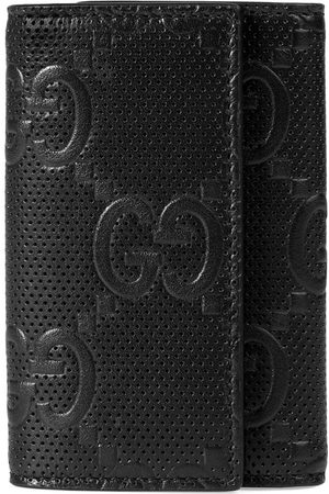 Gucci GG embossed key case