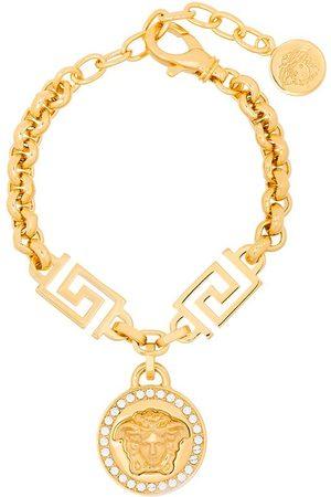 VERSACE Tone Medusa rolo chain bracelet