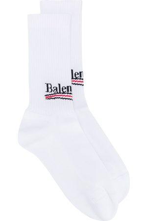 Balenciaga Political logo socks