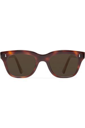 Cubitts Rufford Square-Frame Acetate Sunglasses